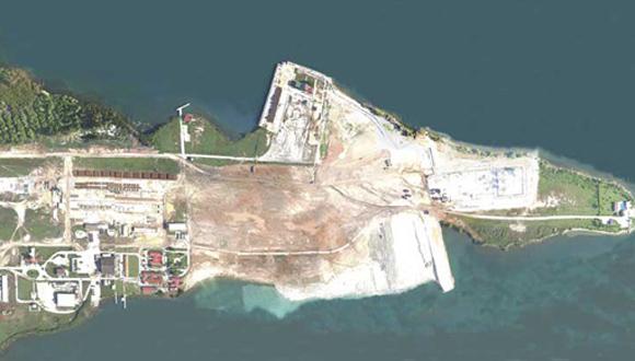 Vista aérea de la terminal de contenedores de Mariel. Foto: Archivo (Cubadebate).