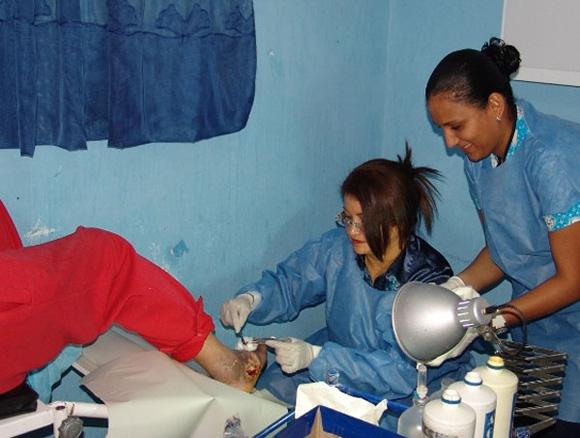 Tratamiento del pie diabético en Cuba