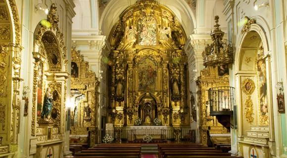 Capilla del convento de las Trinitarias Descalzas.