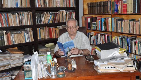 Manuel Lagunilla Martínez, Historiador de Trinidad. Foto: Vicente Brito.