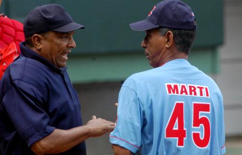 Carlos Martí en la 51 Serie Nacional de Béisbol