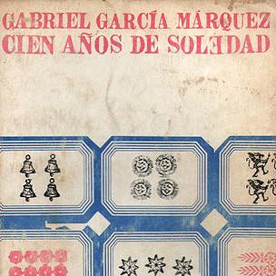 """Así lucía la cubierta de la primera edición de """"Cien años de soledad""""."""