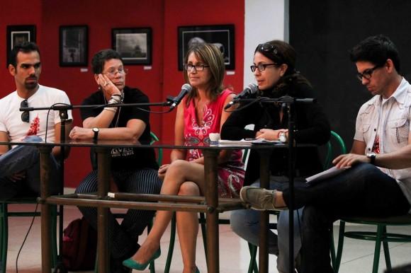 Conferencia de prensa Muestra Joven ICAIC 2014.