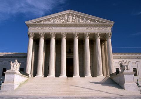 Edificio de la Corte Suprema. Estados Unidos.