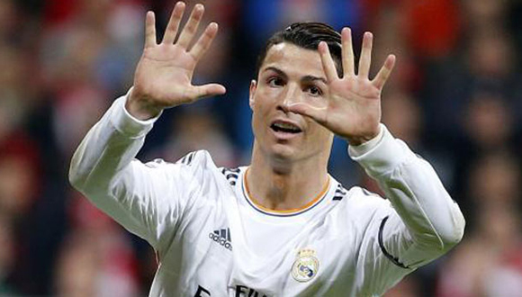 """Cristiano Ronaldo, uno de los puntales para una probable consecución de la décima """"orejona"""""""