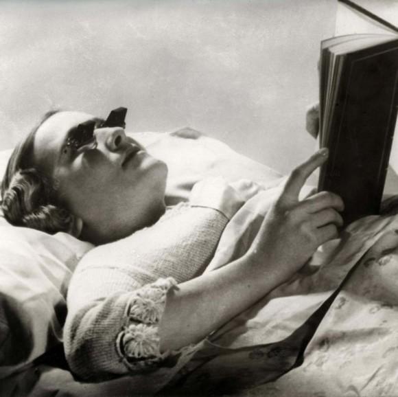 espejuelos para leer en cama
