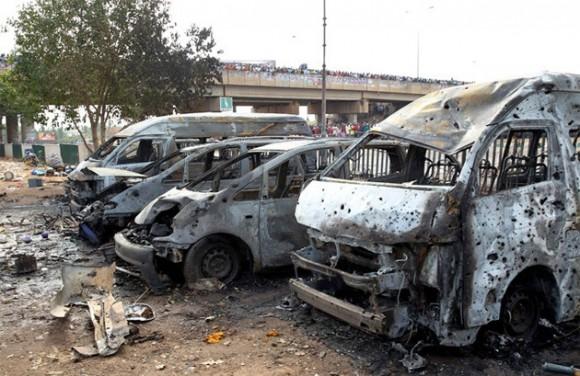 explosion en nigeria