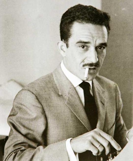 Gabriel García Márquez en Prensa Latina.