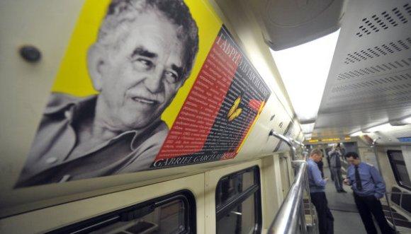 El metro de Moscú se suma al homenaje a García Márquez