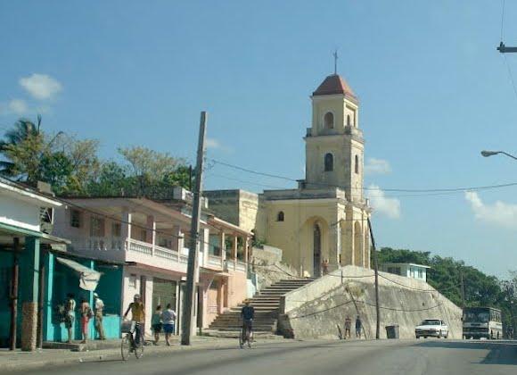 La iglesia de Arroyo Arenas, después. Foto: Archivo del Autor