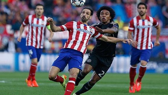 Atlético de Madrid y Chelsea se han enfrentado en tres ocasiones anteriormente, dos en la Champions League y una en la Supercopa de Europa (Fotos: REuters)