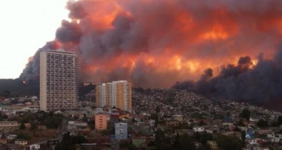 incendio valparaiso