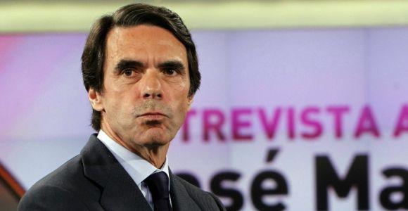 José María Aznar. Foto: EFE.