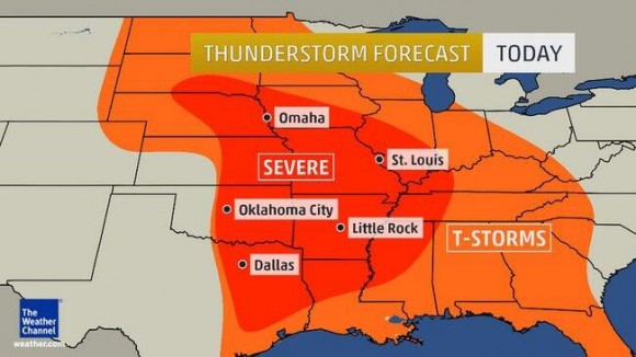 mapa tornados