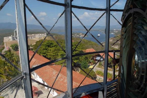 Vista desde el Faro de San Pedro de la Roca