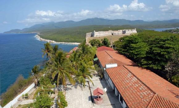 Vista desde la torre del faro de San Pedro de la Roca