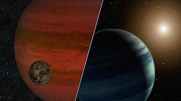 Un estudio escrupuloso de estos eventos permite a los astrónomos calcular la masa de la estrella en primer plano en relación a su planeta. Foto: NASA.