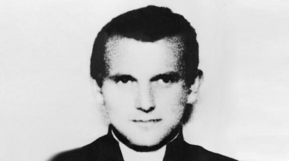 El padre Wojtyla en 1945. Foto: AFP
