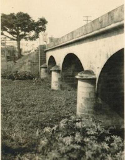 El puente de Arroyo Arenas. Foto: Archivo del autor.