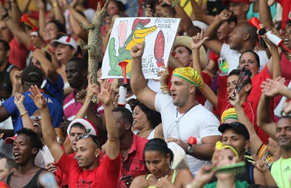 Se empato el Play Off. Disfrutan los matanceros. Foto: Ismael Francisco/Cubadebate.