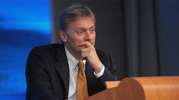 Dimitri Peskov, secretario de prensa del presidente ruso. Foto: RT
