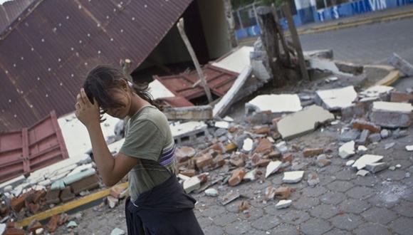 Tensa calma en Nicaragua por sismos y la población se refugia en playas.