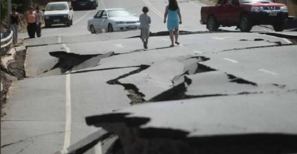 Fuerte temblor de tierra al sur de Perú