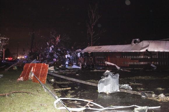 Devastadores tornados al sur de Estados Unidos