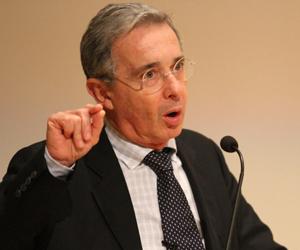 Álvaro Uribe. Foto: Archivo.