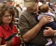 El uso de armas en espacios público ha provocado miles de muertos en la nación.