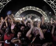 Público asistente al concierto homenaje ofrecido por los músicos cubanos a Juan Formell, fundador de los Van Van y Premio Nacional de Música, en la Tribuna Antiimperialista José Martí, en La Habana, Cuba, el 3 de mayo de 2014.    AIN FOTO/Omara GARCÍA MEDEROS