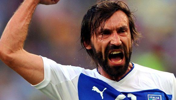 Andrea Pirlo volverá a ser el cerebro de los italianos