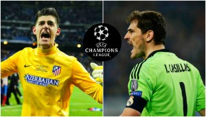 Courtois y Casillas, dos de los mejores arqueros de esta edición de la Champions