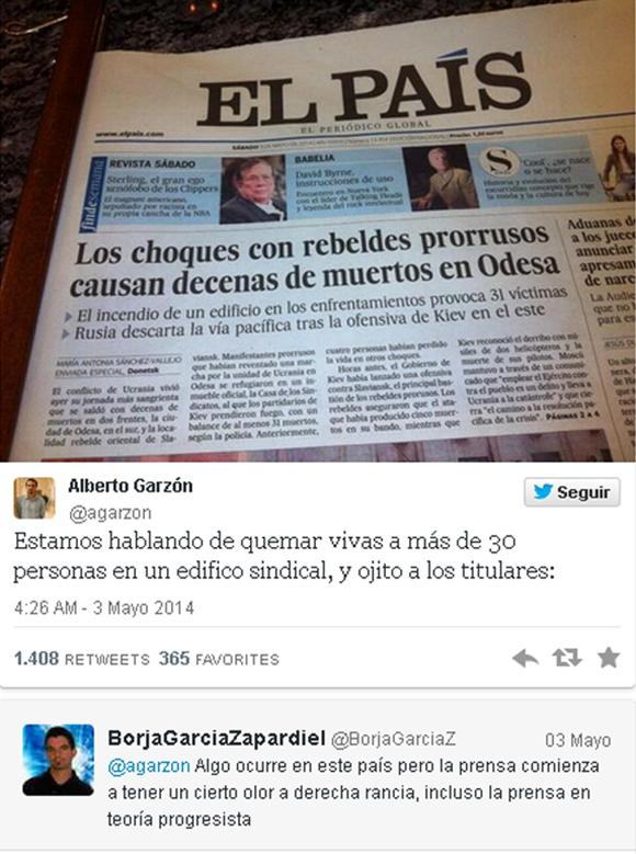 El Pais twitter