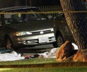 una de las escenas del tiroteo. Foto: AP