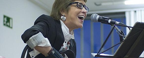 La popular cantante Teresa Parodi fue nombrada Ministra de Cultura en Argentina. Foto: Archivo.