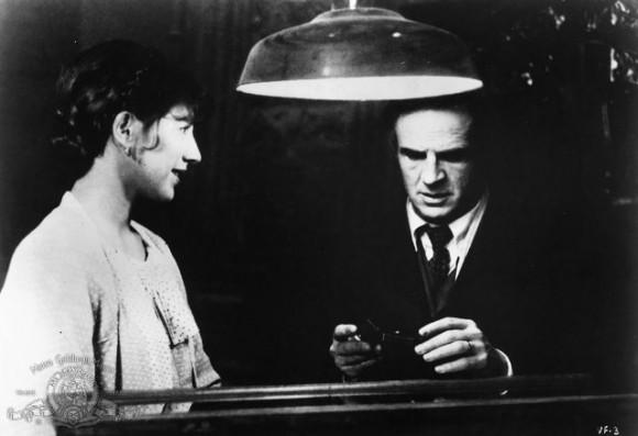 François Truffaut y Nathalie Baye. La habitación verde (1978)