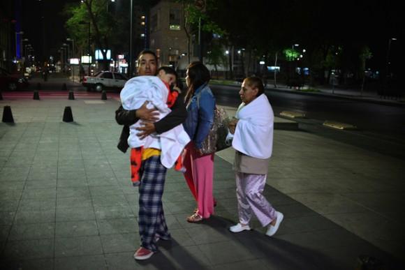 Fuerte sismo sacudio a México el 10 de mayo de 2014