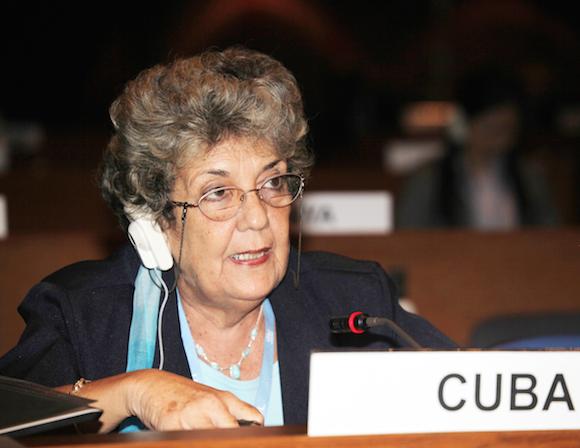 Gisela Alonso Domínguez, presidenta de la Agencia de Medio Ambiente (AMA). Foto: Archivo