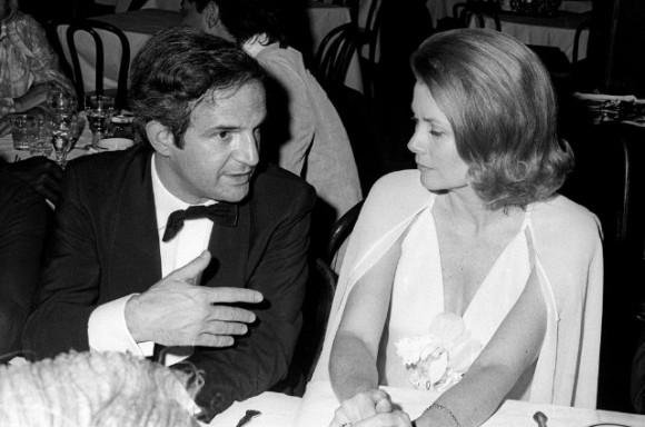 François Truffaut y Grace Kelly