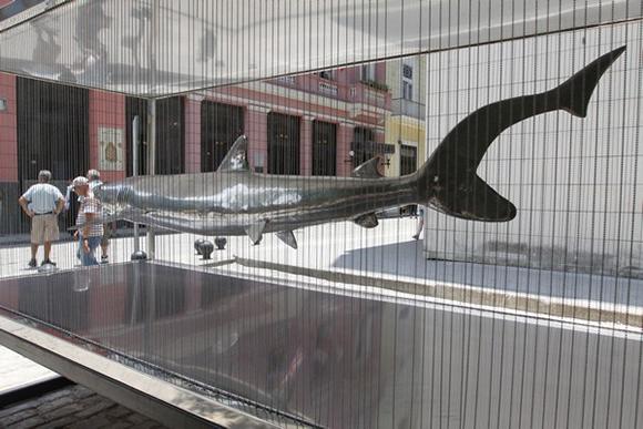 Muestra escultórica Océano. Foto: Otmaro Rodríguez