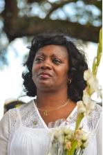 Imagen de Berta Soler, representante de las Damas de Blanco, en Miami. / Gaston De Cardenas Foto: EFE.