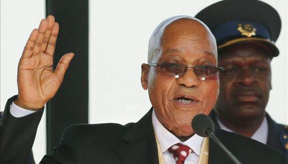 Toma Jacob Zuma posesión de la presidencia de Sudáfrica