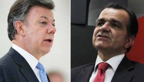 Juan Manuel Santos y Oscar Iván Zuluaga