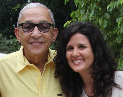 Luego de una tarde maravillosa -once meses atrás- escuchándolo hablar de la música cubana, de su música cubana. Foto: Karla M. Venereo León