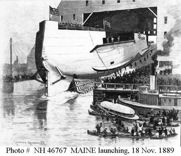 Maine 18 noviembre 1889