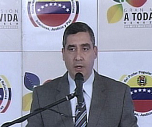 Ministro de Interior, Justicia y Paz, Miguel Rodríguez Torres