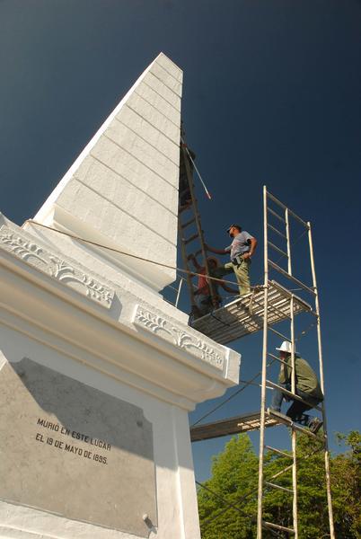 CUBA-GRANMA-MONUMENTO A JOSÉ MARTÍ EN DOS RÍOS