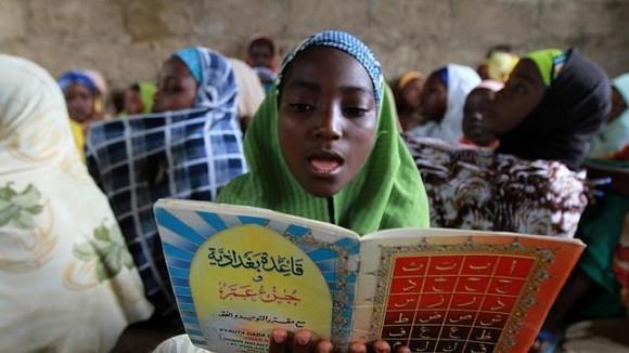 Ninas secuestradas en Nigeria