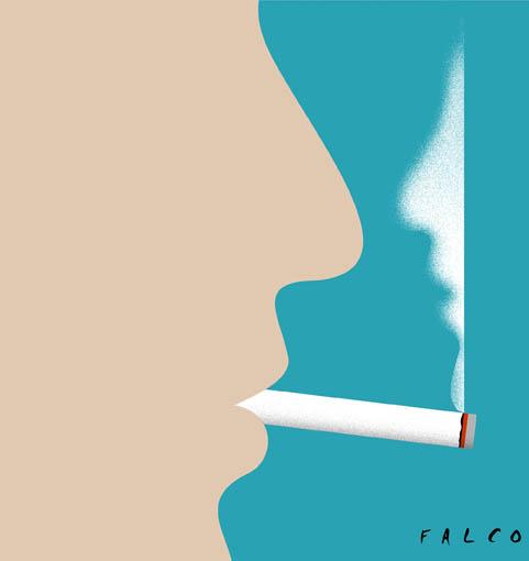 No smoking. Autor: Falco